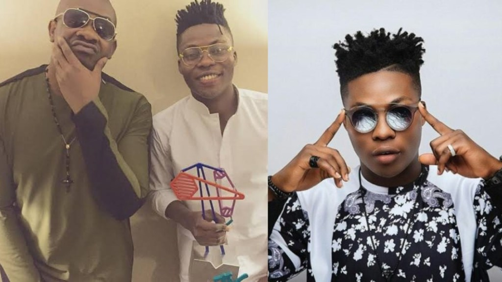 Between Reekado Banks and a Concerned Fan who asked Him to go back to Don Jazzy (Screenshot)