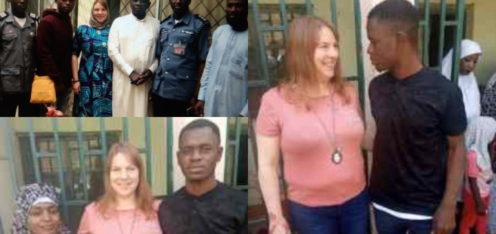 Kano Sharia Police invites American Lady and her young Nigerian Lover who are getting married after meeting on Instagram