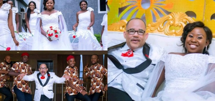 Nigerian Lady ties the knot with her American husband at a Ceremony in Enugu state (Photos)