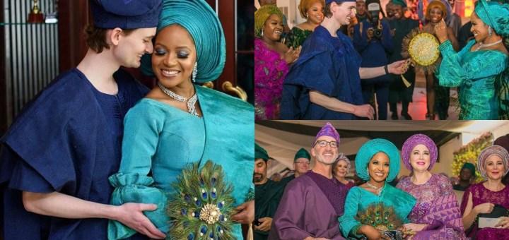 Italian Groom storms Lagos with Family to marry his Nigerian Heartthrob (Photos)