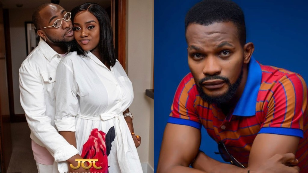 Chioma & my brother Davido are destined to Live Together Happily - Uche Maduagwu