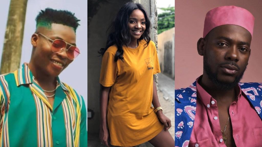 """Find a wife & start a family in Gabon"" - Adekunle Gold & Simi advise Reekado Banks"