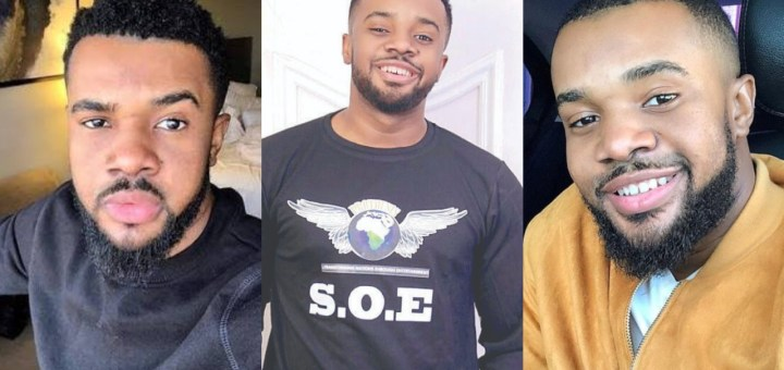 Actor Williams Uchemba warms heart after sharing plan to rehabilitate two beautiful girls and family living under Telecom mast (Photo)