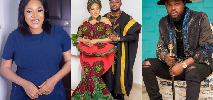 Use your brain & swallow your pride - Kolawole Ajeyemi says as he talks about his love with actress Toyin Abraham