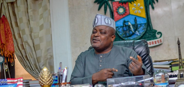 Money is meant to be spent - Lagos Speaker, Mudashiru Obasa reacts to allegations of fraud against him (Videos)
