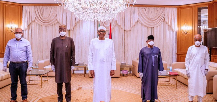 Presidential aide, Lauretta Onochie, explains why President Buhari doesn't wear face mask