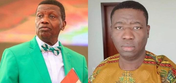 Pastor Adeboye prays for his son, Leke as he celebrates 38th Birthday (Video)