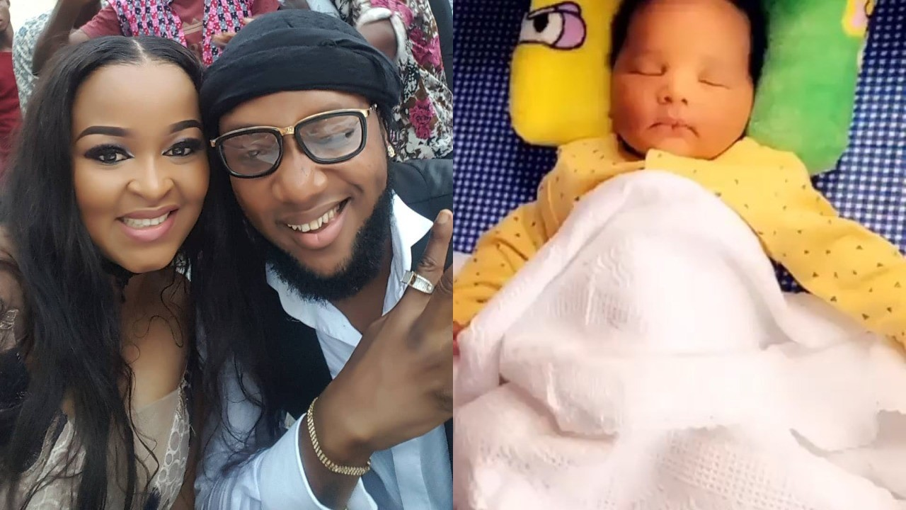 Singer Kcee's Wife, Ijeoma Shares Adorable Video Of Her Newborn ...