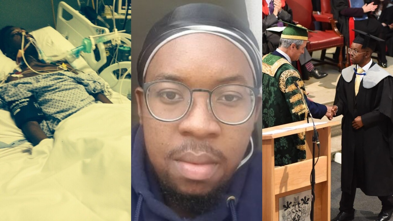 Young man who overcame brain cancer twice graduates with ...