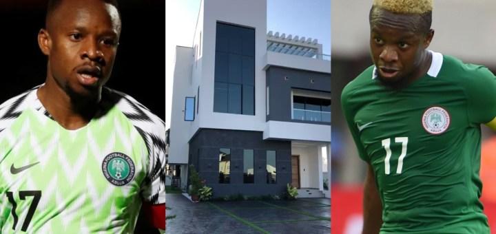 Super Eagles player Ogenyi Onazi buys multi-million naira home in Lekki (Photos, Video)