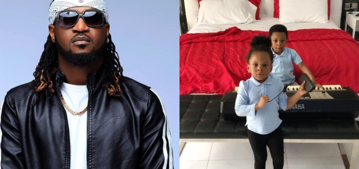 """""""Musically good"""" - Paul Okoye shares adorable video of his daughter, Nadia showing off her rap skills"""