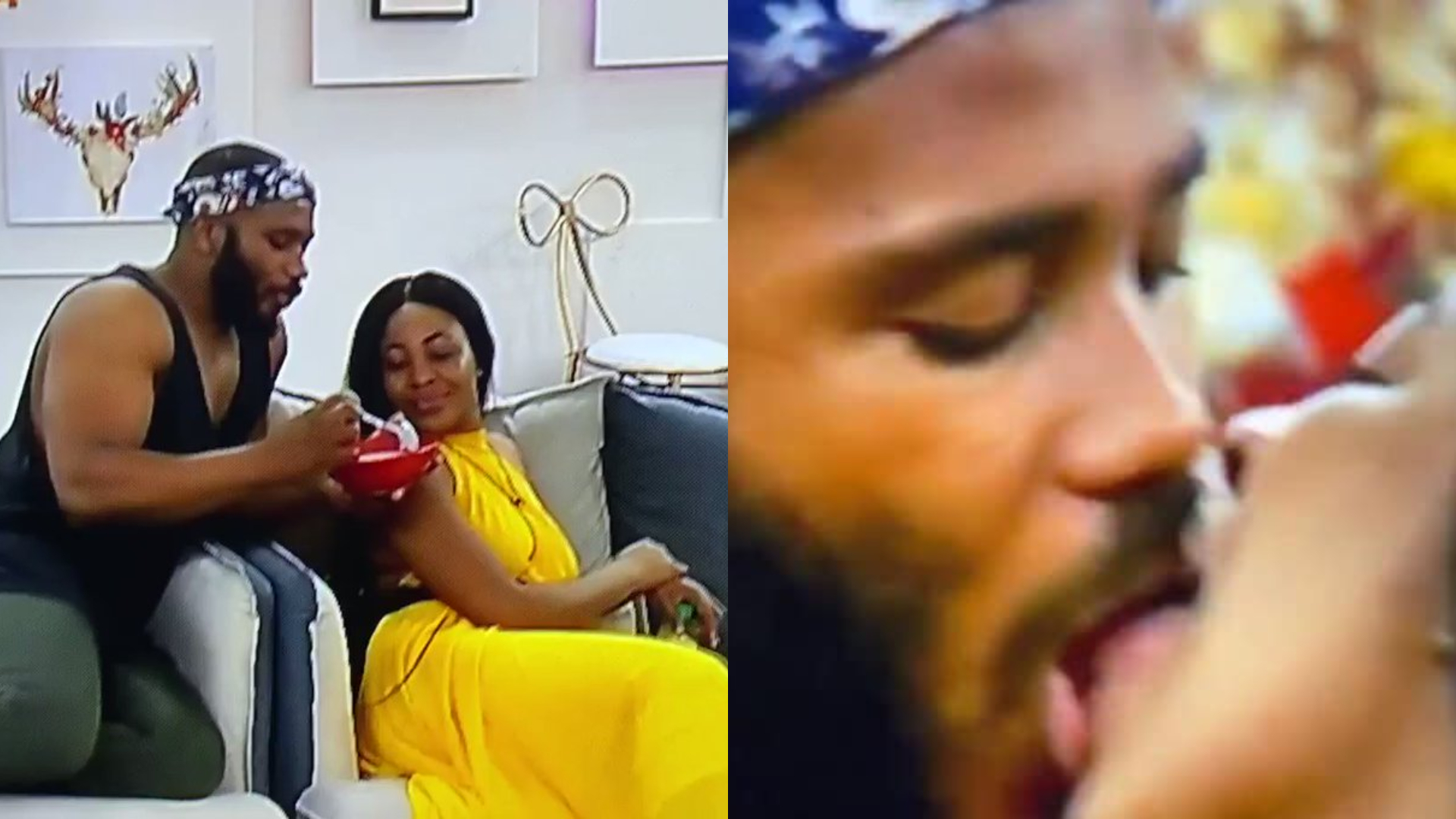 BBNaija 2020: Erica & Kiddwaya spotted kissing hours after she called off  their 'relationship' (Video) | LuciPost