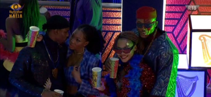 #BBNaija 2020: Oxlade Performance, Photos and Videos from the Second Saturday House Party