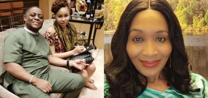 Fani-Kayode's wife, Precious Chikwendu, caught in hotel with married man - Kemi Olunloyo