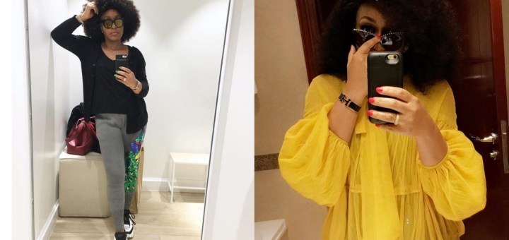 """""""You Need To Upgrade"""" - Man Mocks Actress Rita Dominic For Using An iPhone 6"""