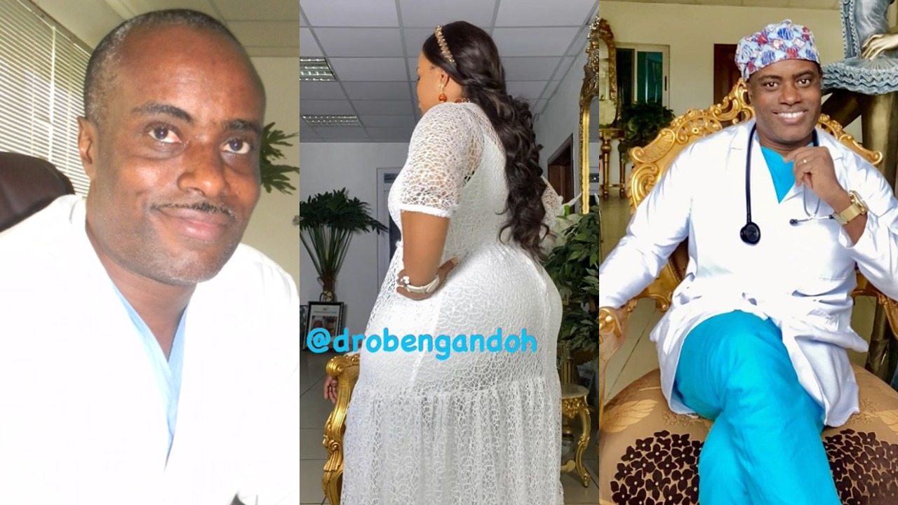 I intentionally shaped my wife's body for myself to enjoy - Ghanaian plastic surgeon, Dr Obengfo