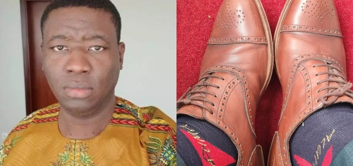 """""""I have been wearing the same shoes for the last 12 weeks"""" - Daddy GO's son, Leke Adeboye writes"""