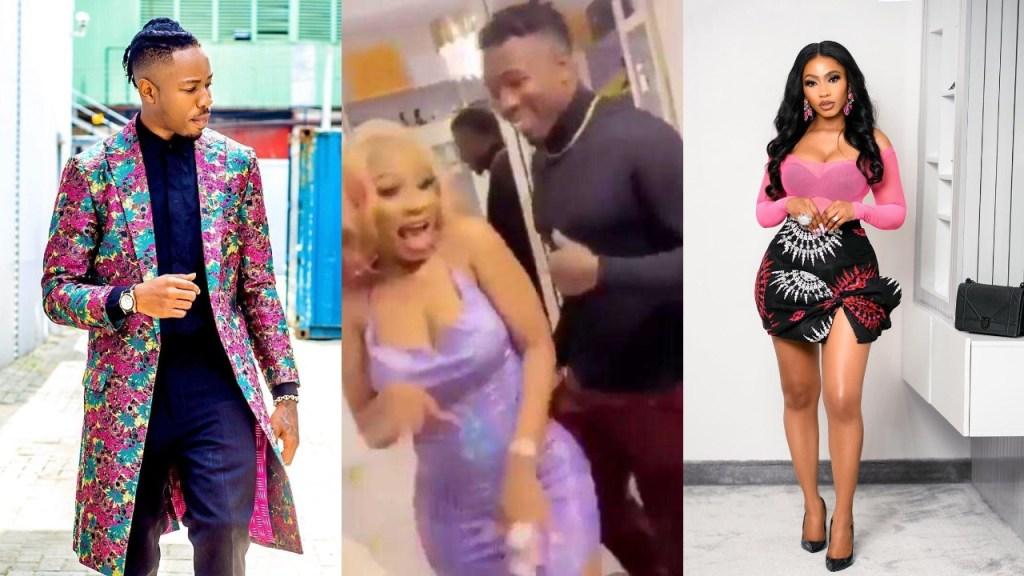 Mercy Eke receives a whooping 10,000 dollars from her lover, Ike Onyema