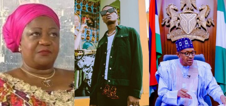 """""""You are a mother and kids are getting killed by SARS, shame on you"""" - Wizkid replies Buhari's aide, Lauretta Onochie"""