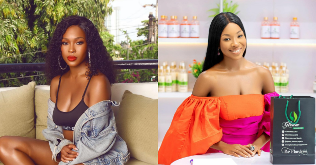 Nigerians Drag Vee For Signing Endorsement Deal With Bleaching Skin Care Company After She Vowed Never Do So