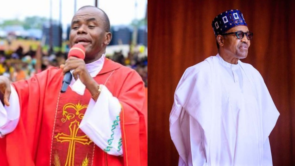 #EndSARS: President Buhari surrounded himself with criminals, who lie to him - Father Mbaka