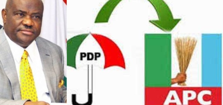 Wike & eight more PDP governors to join APC - Kogi state governor, Yahaya Bello alleges