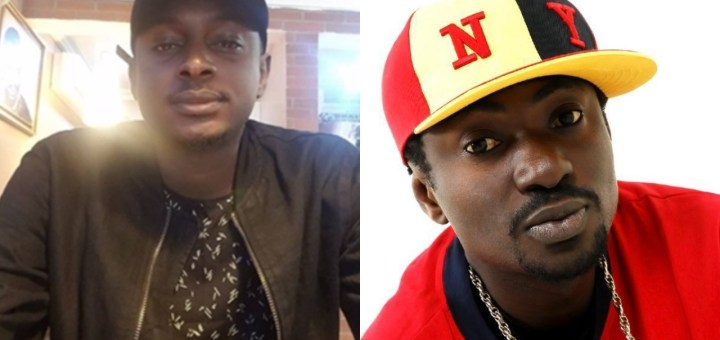 Your obsession with 2face will be the death of you, fucking idiot - 2baba's brother Charles Idibia drags Blackface