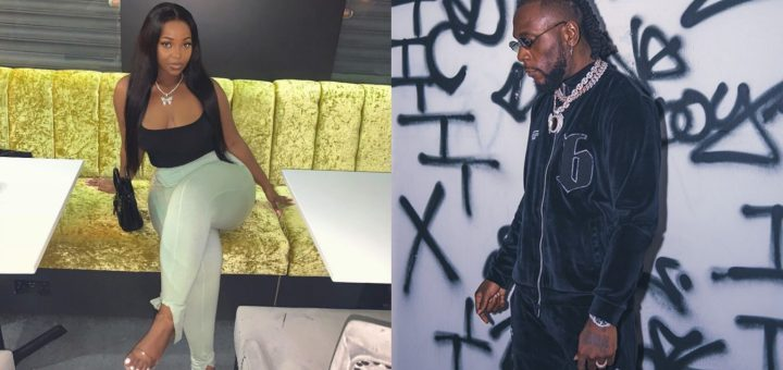 Burna Boy's alleged side chick, Jopearl, calls him out, shares dirty secrets (Video)