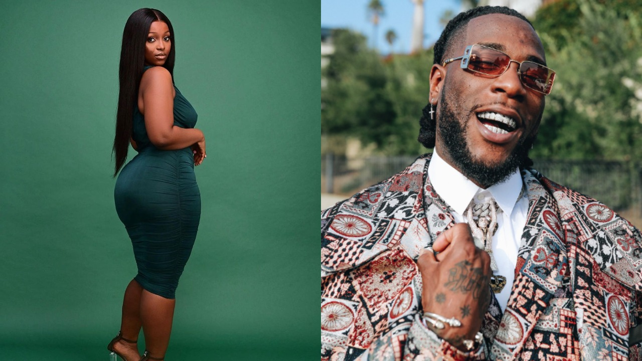 """Burna Boy's alleged side chic, Jo Pearl, dragged for saying """"silence is better than words """" after calling Burna out"""