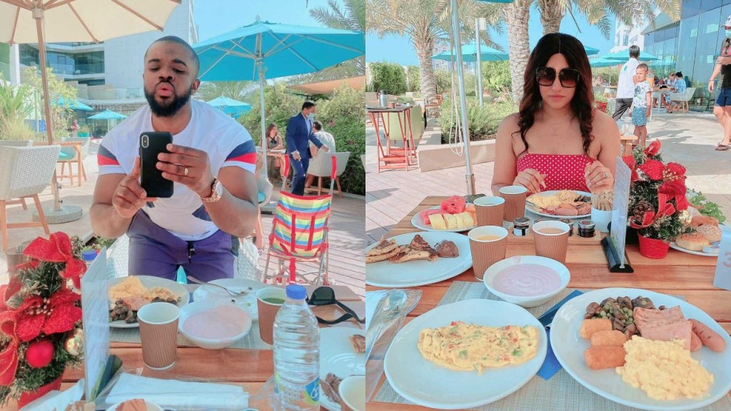 Williams Uchemba & wife pictured on their honeymoon (Photos)