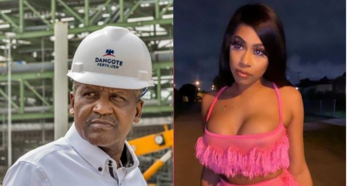 You Offered Me N1m Every Month To Keep My Mouth Shut But I Refused - Dangote's Mistress Fires Back After Lawsuit