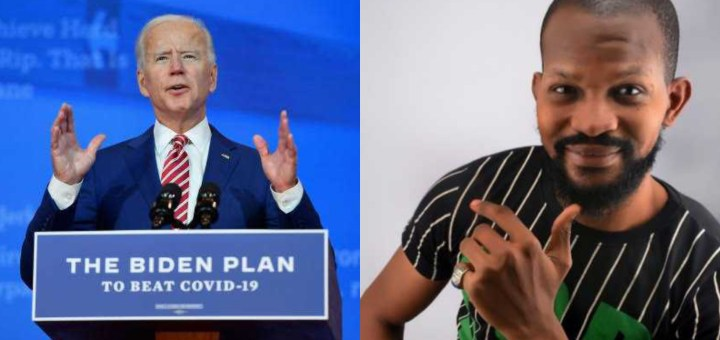 Actor Uche Maduagwu calls on Joe Biden to place sanctions on Nigeria over it's laws against homosexuals