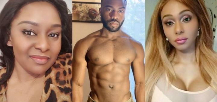 Transgender Nigerian, Miss Sahhara slams Victoria Inyama for saying Bolu Okupe shouldn't have made his Sexual Orientation Public