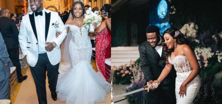 Adewale Adeleke celebrates first Wedding Anniversary with wife, Ekanem Eyoita 'Kani'
