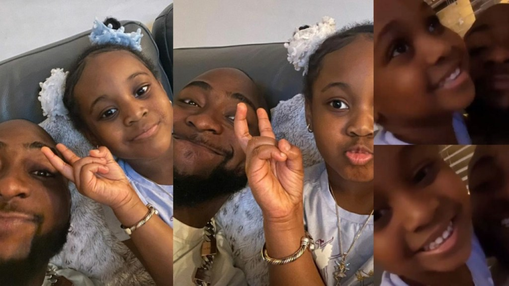 Davido shares adorable father-daughter moment with Hailey in Atlanta (Video)