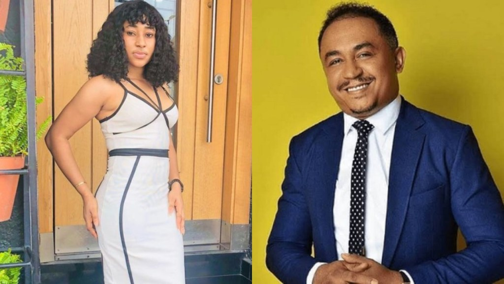 Lady adds a tattoo of OAP Daddy Freeze on her skin to show appreciation to the Media personality