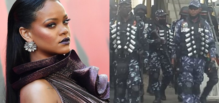 """#OccupyLekkiTollgate: """"Peaceful Protest Is A Human Right"""" - Rihanna Backs Lekki Protesters"""