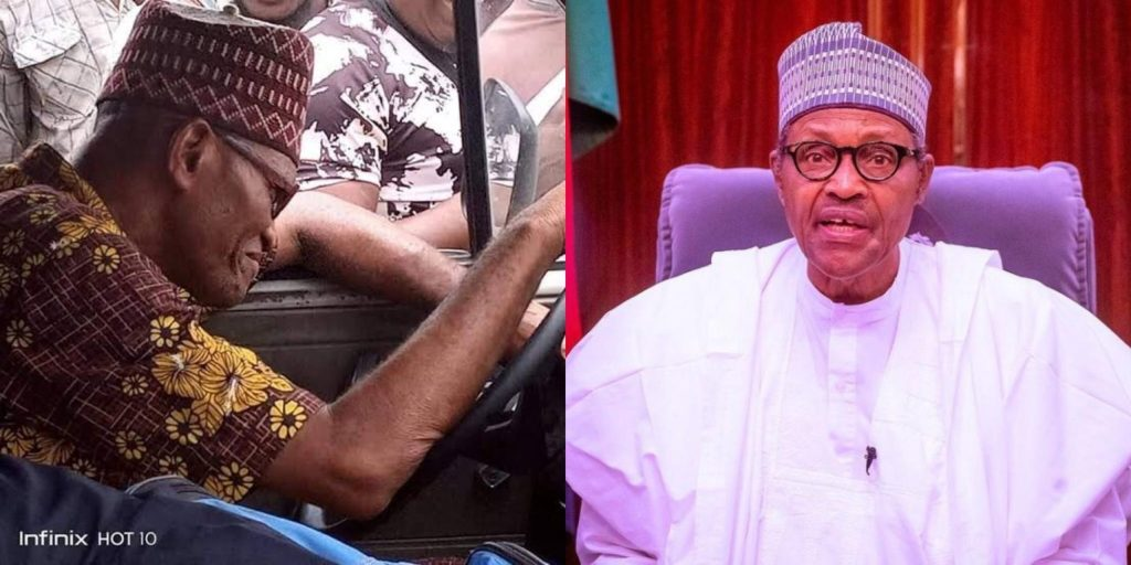 Recent reports have alleged that it was President Buhari who was spotted behind the wheels of a Danfo Bus