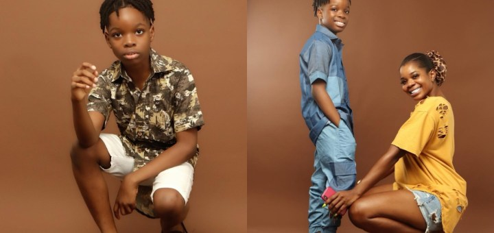 My favorite hype queen - Wizkid's first son Boluwatife hails his mother on Mother's day