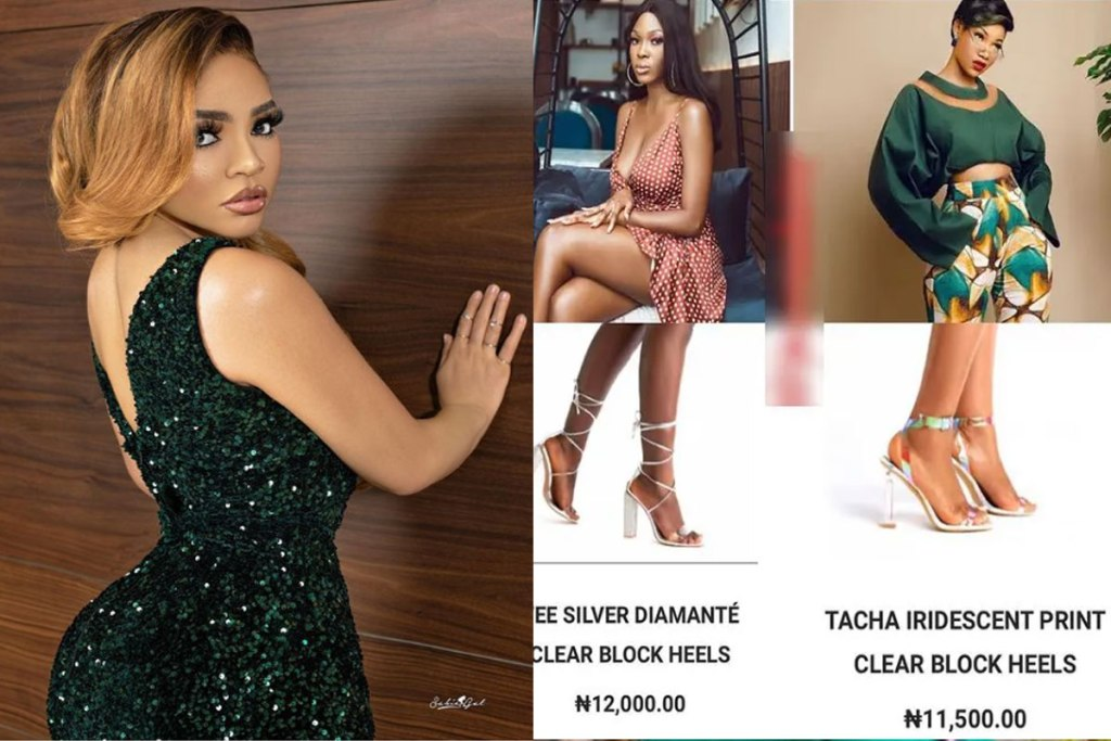 React As Nengi Names Her New Shoe Collections After Ex-BBNaija Housemates