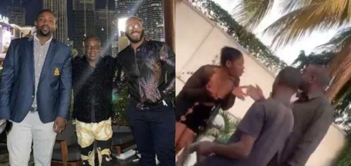 Massive Reactions As Sex Worker Embarrasses Kiddwaya's Brother For Refusing To Pay Her (Video)