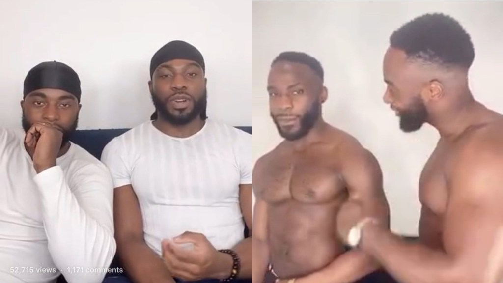 Bolu Okupe son to Doyin Okupe a former aide to Goodluck Jonathan & his gay partner Mfaome reveal how they met (Video)