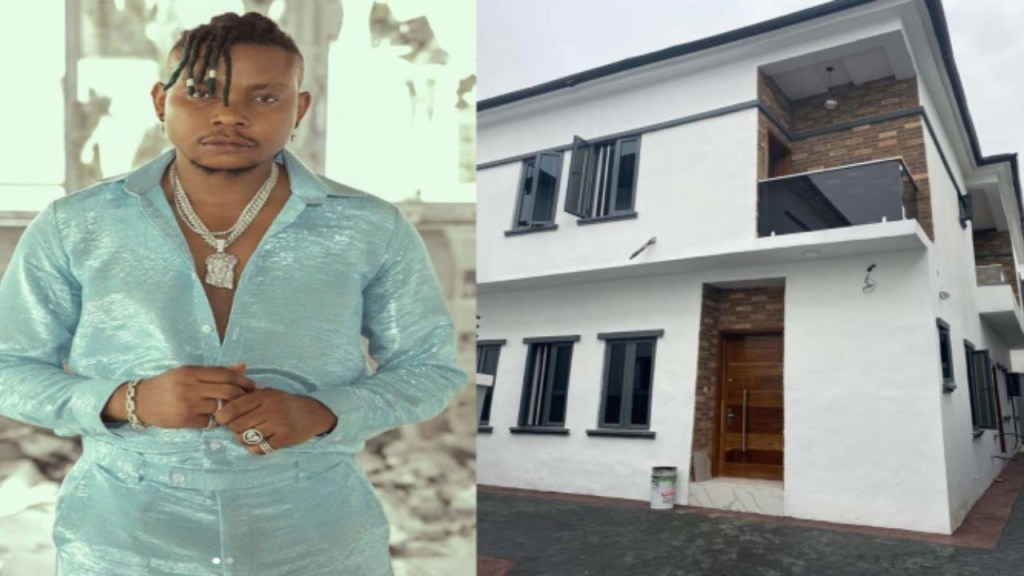 Singer Olakira Buys First House New Car And Retires His Mother (Photos)