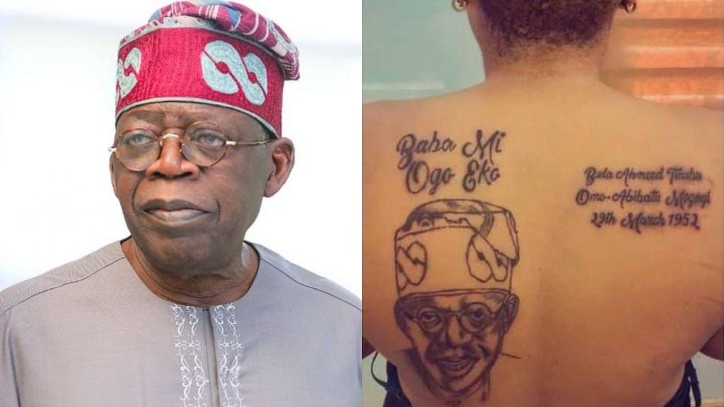 Nigerian woman allegedly gets kicked out of her matrimonial home by her husband for expressing her love for politician Tinubu