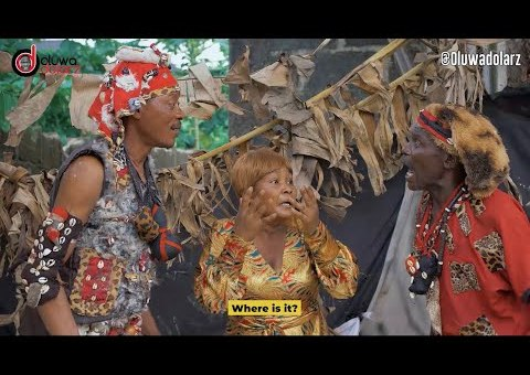 Comedy Video: Oluwadolarz Comedy - Mummy Dolarz In Double Trouble