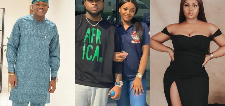 No matter what happened between you & my brother remember that you guys were friends before anything - Davido's cousin Clarks Adeleke tells Chioma
