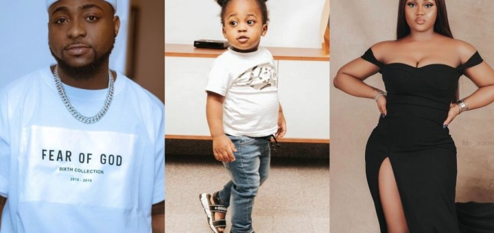 Davido declares son with Chioma, Ifeanyi, as his 'heir apparent'