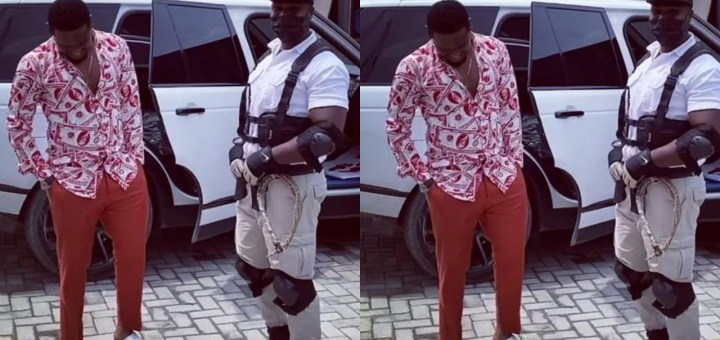 Actor Zubby Micheal flaunts his new exotic ride (Video)