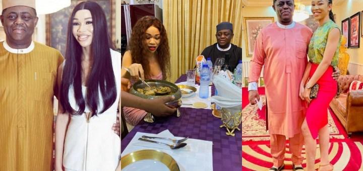 Femi Fani-Kayode reportedly finds love again meet his new boo Nerita (Photos)