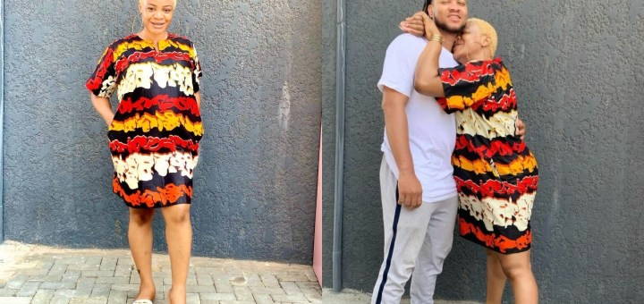 Actress, Uche Ogbodo rebukes a troll who called her Baby Daddy a broke man